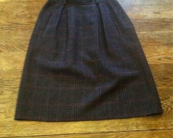 Small Wool Skirt