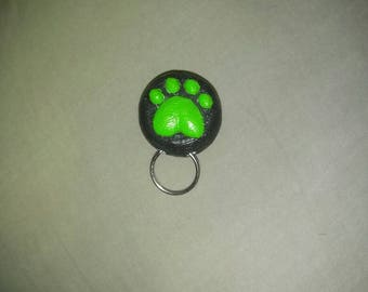 Chat Noir Paw Keychain