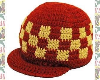 Knit Cap R-/64cm[Zion Brand]Rockers Styleee!! (Roots Reggae Rasta Jamaica Africa Ethiopia Dub Dread)