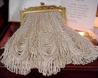 Chantilly Bride Beaded Bag Purse Pattern