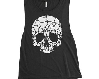Broken Skull, Ladies' Muscle Tank