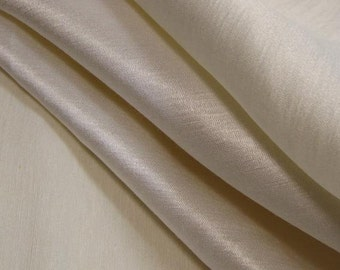 "Hemp Silk Satin-57""-Natural-60% Hemp 40 percent Silk"
