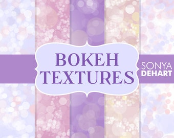 80% OFF SALE Bokeh Digital Paper Bokeh Textures Bokeh Paper Pack