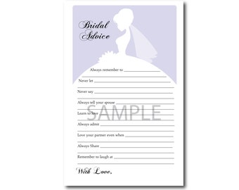 5 Light Purple Bridal Shower Printable Games: Famous Couples,What's in your Purse Game, Word Scramble, Bridal Advice, ect