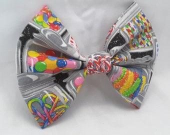 candy hair bow, hair clips, colorful candy hair clip , hair accesories , hair bow