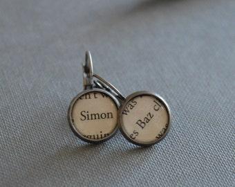 Simon and Baz Carry On Earrings