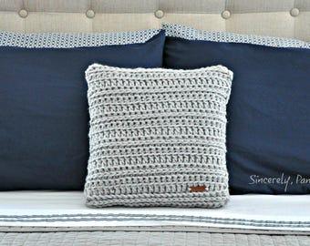 Danielle Pillow Cover Crochet Pattern pdf