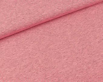 Viscosejersey narrow stripes Grey-neon pink (11.90 EUR/meter)