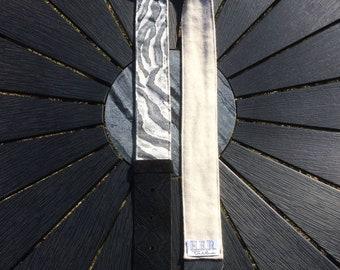 Guitar strap. Handmade Guitar Strap. Custom guitar strap. Acoustic guitar. Fabric guitar strap.  Zebra guitar strap. Adjustable strap