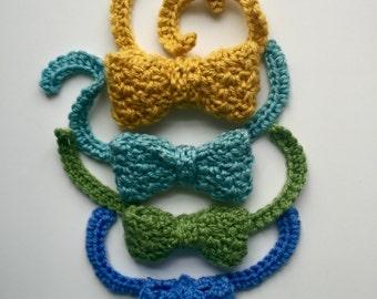 Crochet PATTERN Bow Tie - Wedding - Pattern Bow Tie - 4 sizes