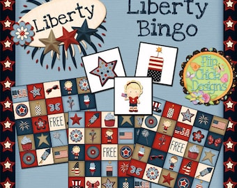 4th of July Printable Bingo Game