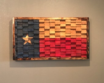 HUGE! Texas Flag Wall Art