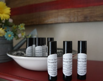 Beeswax Lip Balm. With peppermint. Small batch. Hand poured.