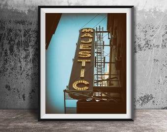 Majestic Theatre Sign - New York City - Broadway - Times Square - NYC Sign Photography Print - art photo - Musical