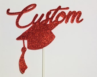 Custom, Cake Topper, Graduation Cake topper, cake topper, cake decoration, New Job topper, Promotion Cake Topper, personalize, name