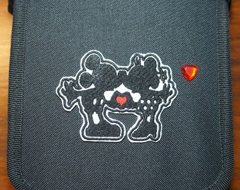 Mickey Loves Minnie Inspired Heart Hands Trading Pin Bag