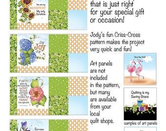 "Mug Matts for Jody's 5"" and 6"" Fabric Art Panels"