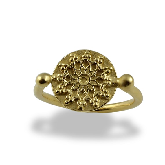 Egyptian Signet Ring Signet Ring Womens Signet Ring Pinky