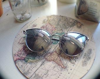 Browline Sunglasses/Retro Sunglasses/Unique Sunglasses/Bohemian sunglasses