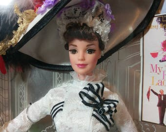 1995 Barbie as Eliza Doolittle by Mattel