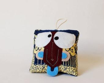 Totem decoration - handmade plush