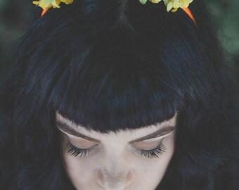Headpiece | Haarreif | Flowercrown | Bridal Crown | Halloween | Hochzeitsschmuck | Wedding Crown | Cosplay | Lolita | Bridal | OliSkyless