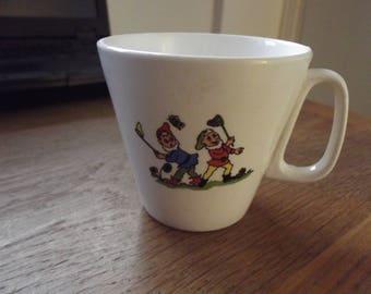 vintage elf/gnome mug/cup 1960s
