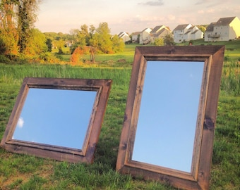 Rustic Mirror (with Moulding)