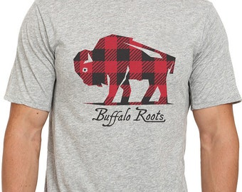 Buffalo Check - Adult TShirt