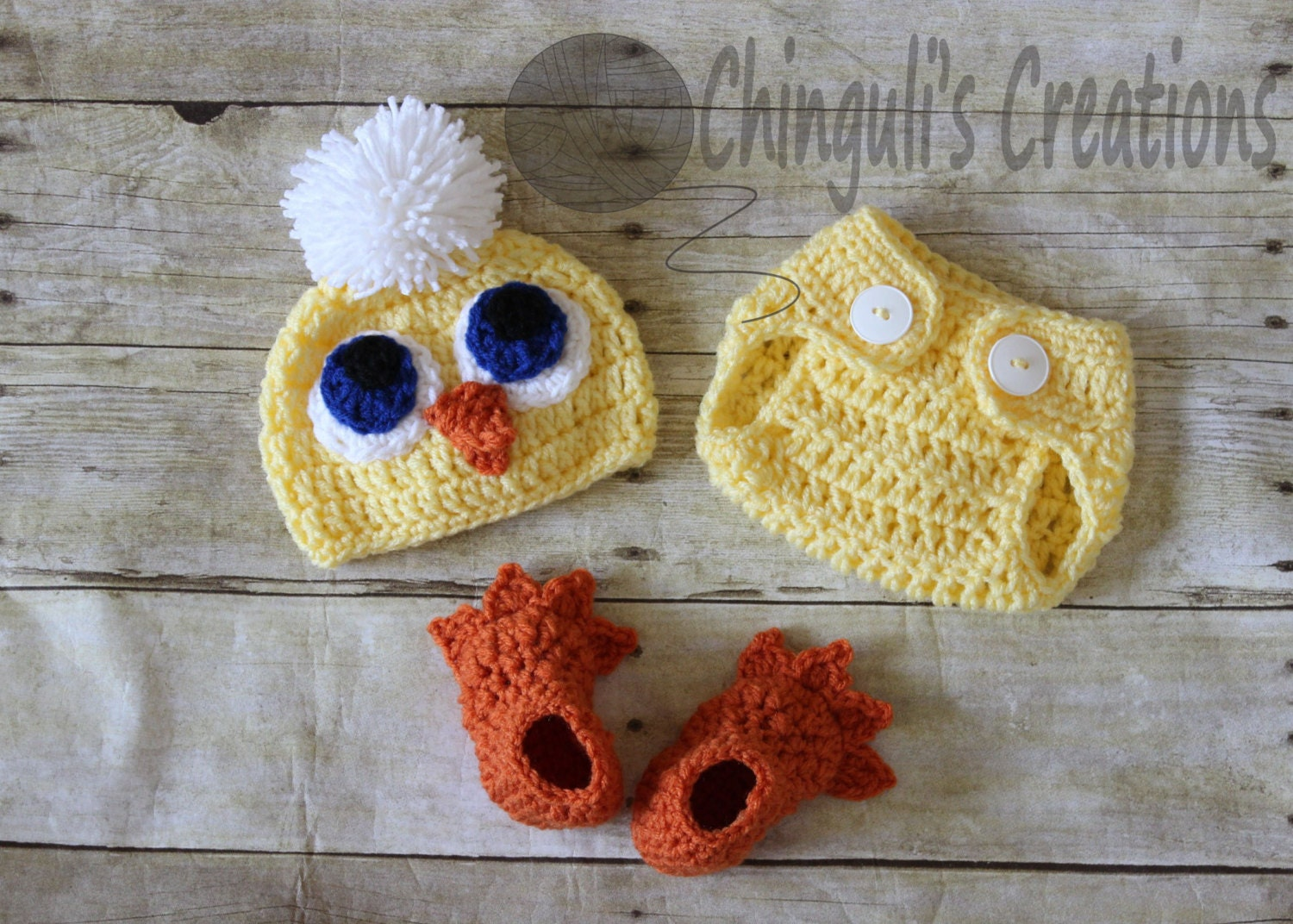 Dorable Crochet Chicken Pattern Adornment - Sewing Pattern for ...