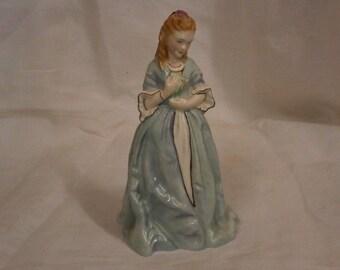 Royal Worcester Sweet Anne Figurine. Vintage.