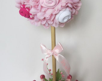 Baby Girl Topiary, Princess Baby Shower Centerpiece, Baby Girl Shower  Decoration, Welcome Baby Princess, Princess Baby Shower, New Mom Gift