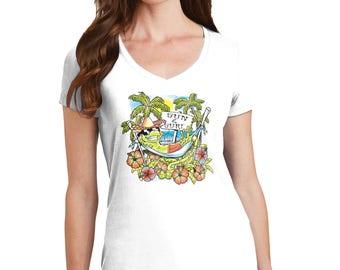 Sun and Surf Color Changing T-Shirt, Sun and Surf T-Shirt, Color Changing T-Shirt, T-Shirt, Sun and Surf, Beach T-Shirt, Beach, Beach Gift