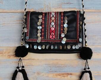 women boho hippie bag,  festival cross body bag, women native american bag, festival bag, hippie purse, bohemian purse, boho bags