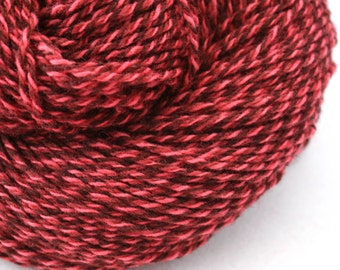 Rockwell Hand Dyed DK weight Wool 280 yds 4oz Lipstick