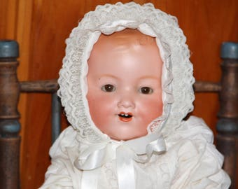 Armand Marseille Antique doll made in Germany 50 cm doll bisque and cloth antique Marseille Doll antique German doll