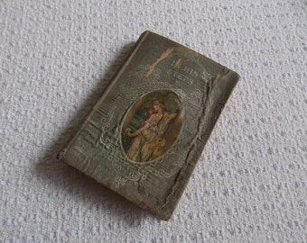 VINTAGE: Book In His Steps Religious Novel Hard Cover WWJD What Would Jesus Do