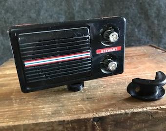 Vintage Stewart Bicycle AM radio