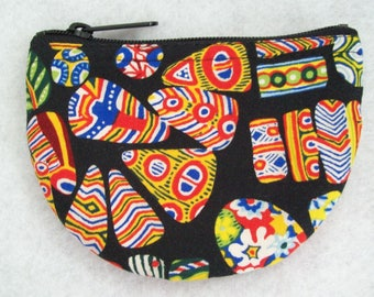 "5"" ZIPPERED COIN PURSE"