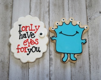 Only Have Eyes for You Monster Buttercream Cookie Boxed Set