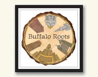 Buffalo City Wall Art