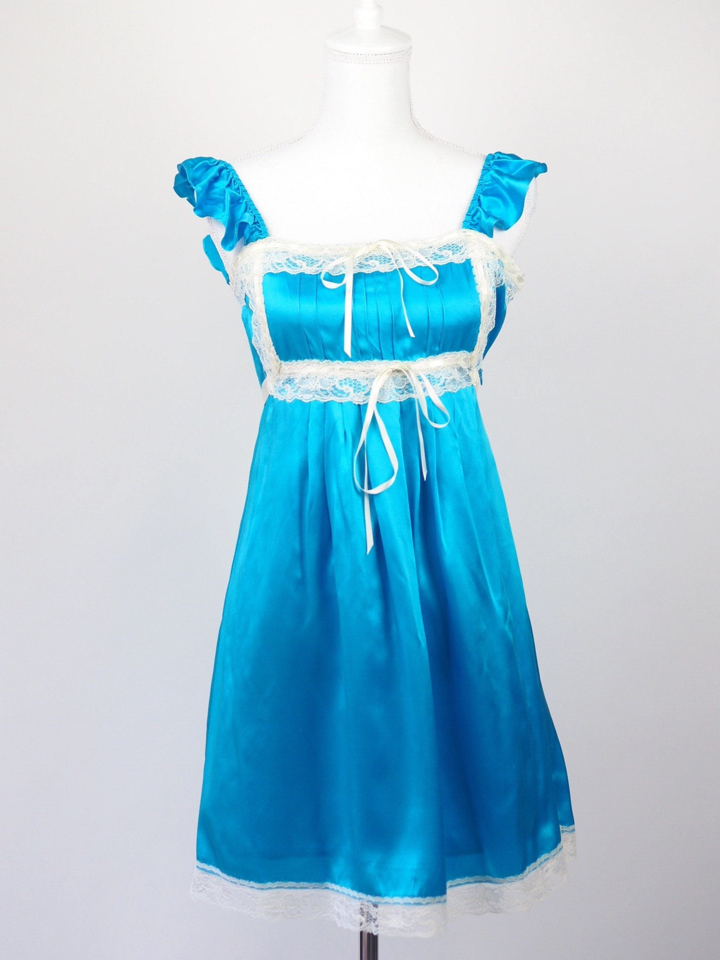 Vintage Betsey Johnson Alice Bound Lingerie Dress