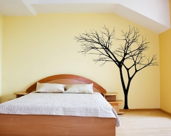 Tree Wall Decal | Vinyl Wall Decal | Winter Tree | Bare Tree | Large Tree Decal | Nursery Decal | Style 3 22222