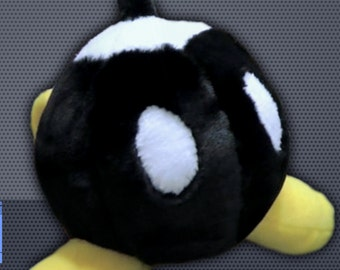 Plush Bob-Omb Pattern - Super Mario Bros - PATTERN ONLY