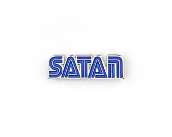 "Satan Master System - 1"" Soft Enamel Pin"