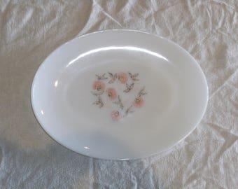 Vintage Oval Fire King Platter