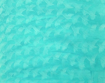 """paste paper for album srapbooking or handmade boxes, 19,5x27,3"""",  """"china crossing on turquoise"""""""