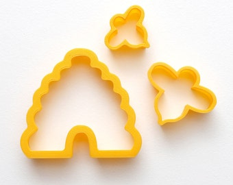 Busy Bee Cookie Cutter from The Haven (3-cutter set)