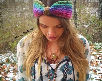 Aura Turban Crochet Headband