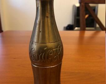 Vintage Brass Coca Cola Bottle